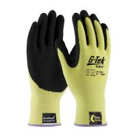G-Tek KEV Kevlar Glove with Nitrile Grip