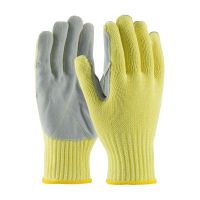 Kevlar Gloves with Leather Palm