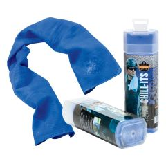 Chill-Its Evaporative Cooling Towel - Blue
