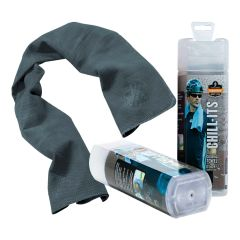 Chill-Its Evaporative Cooling Towel - Gray
