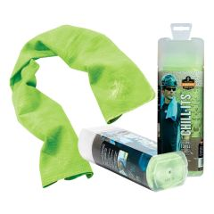 Chill-Its Evaporative Cooling Towel - Hi-Vis Lime