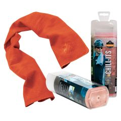 Chill-Its Evaporative Cooling Towel - Orange