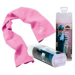 Chill-Its Evaporative Cooling Towel - Pink