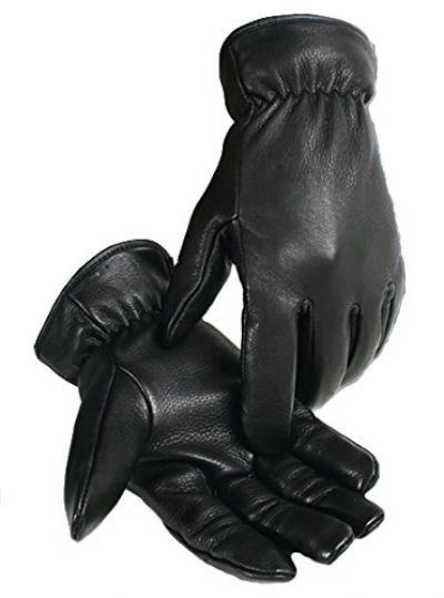 Caiman Genuine Deerskin Leather Gloves