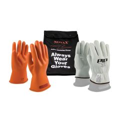 Novax Electrical Safety Glove Kit - Orange - Class 0