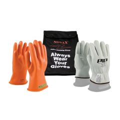 Novax Electrical Safety Glove Kit - Orange - Class 00