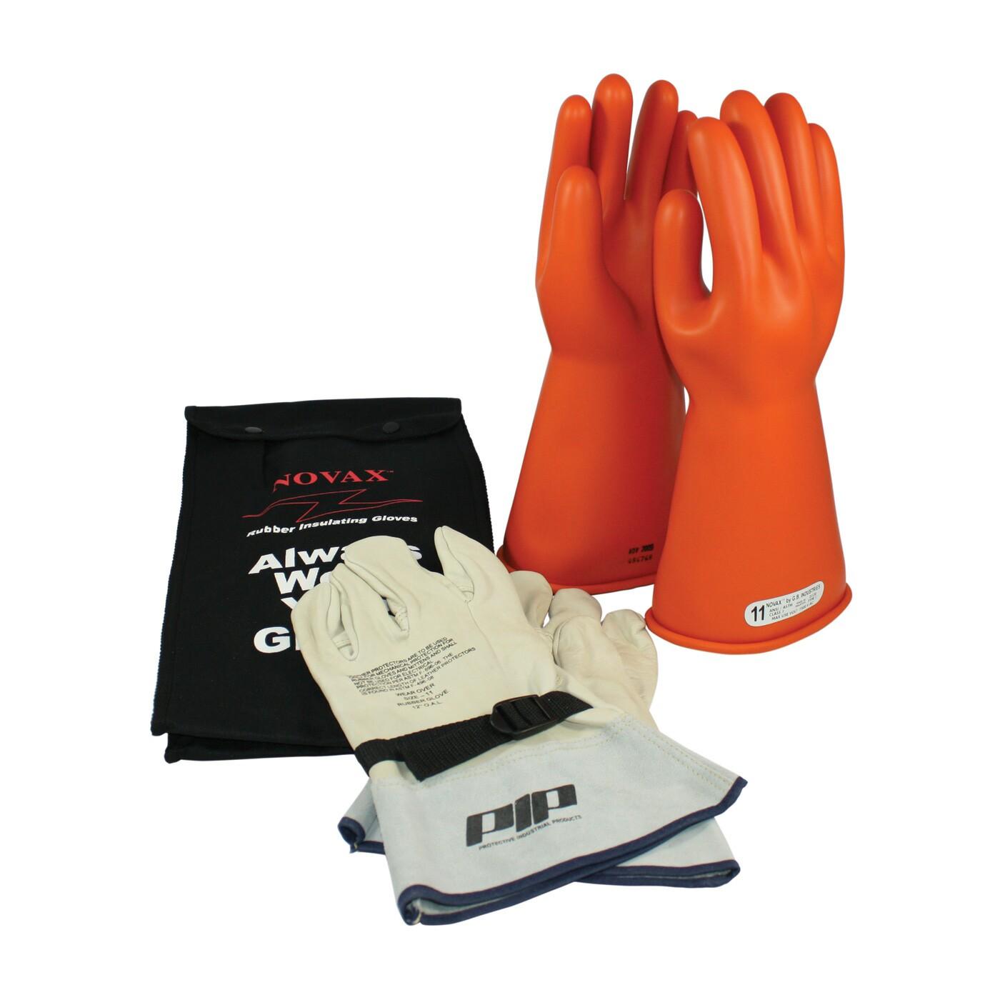 Novax Electrical Safety Glove Kit Orange Class 1