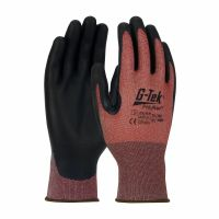 G-Tek Polykor Palm Coated Cut Resistant Gloves
