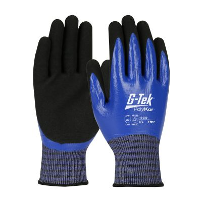 G-TEK Polykor X7 Coated Cut Resistant Gloves