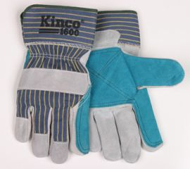 Kinco Premium Cowhide Double Palm Gloves