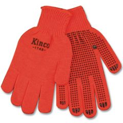 Kinco Hi-Vis Orange Knit with PVC DOTS