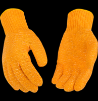 Kinco Hi-Vis Orange Knit with PVC WEBBING