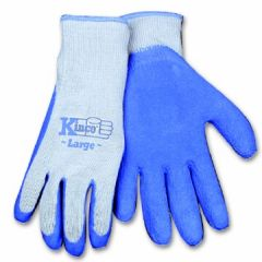 Latex Coated Poly Cotton Gloves