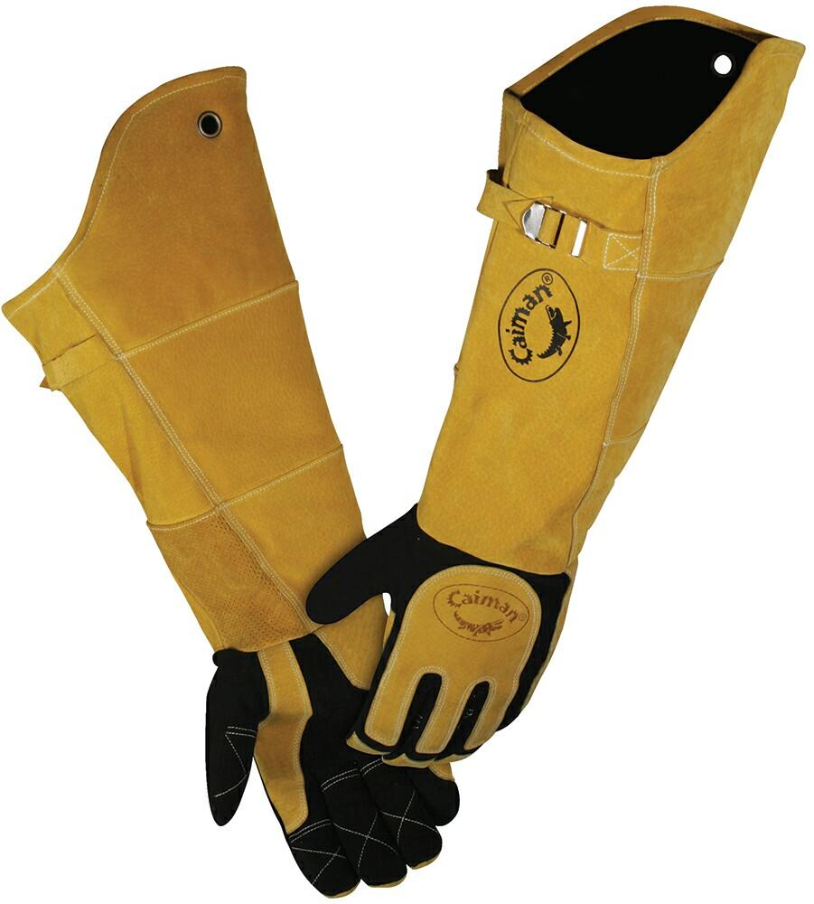 Caiman Kontour 21 Inch Deerskin Welding Glove Welding