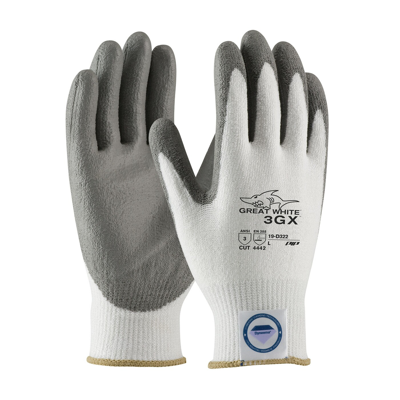 Great White Dyneema Cut Resistant Gloves Cut Resistant