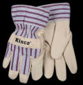 Children's Lined Work Gloves with Cuff