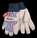 Children's Lined Work Gloves with Knit Wrist