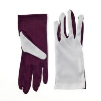 Two Color GO Flash Gloves - Maroon