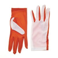 Two Color GO Flash Gloves - Orange