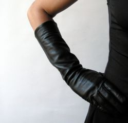Portolano Ladies Silk Lined Italian Leather Gloves