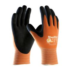 ATG Maxiflex Ulitmate Hi-Vis Coated Gloves