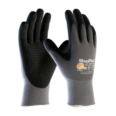 ATG MaxiFlex Endurance Coated Gloves with Dotted Palm