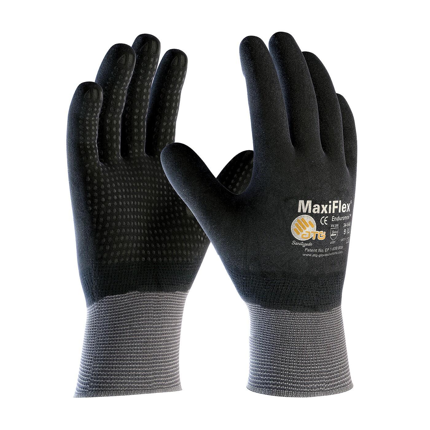 Atg Maxiflex Endurance Full Hand Coated Gloves Coated