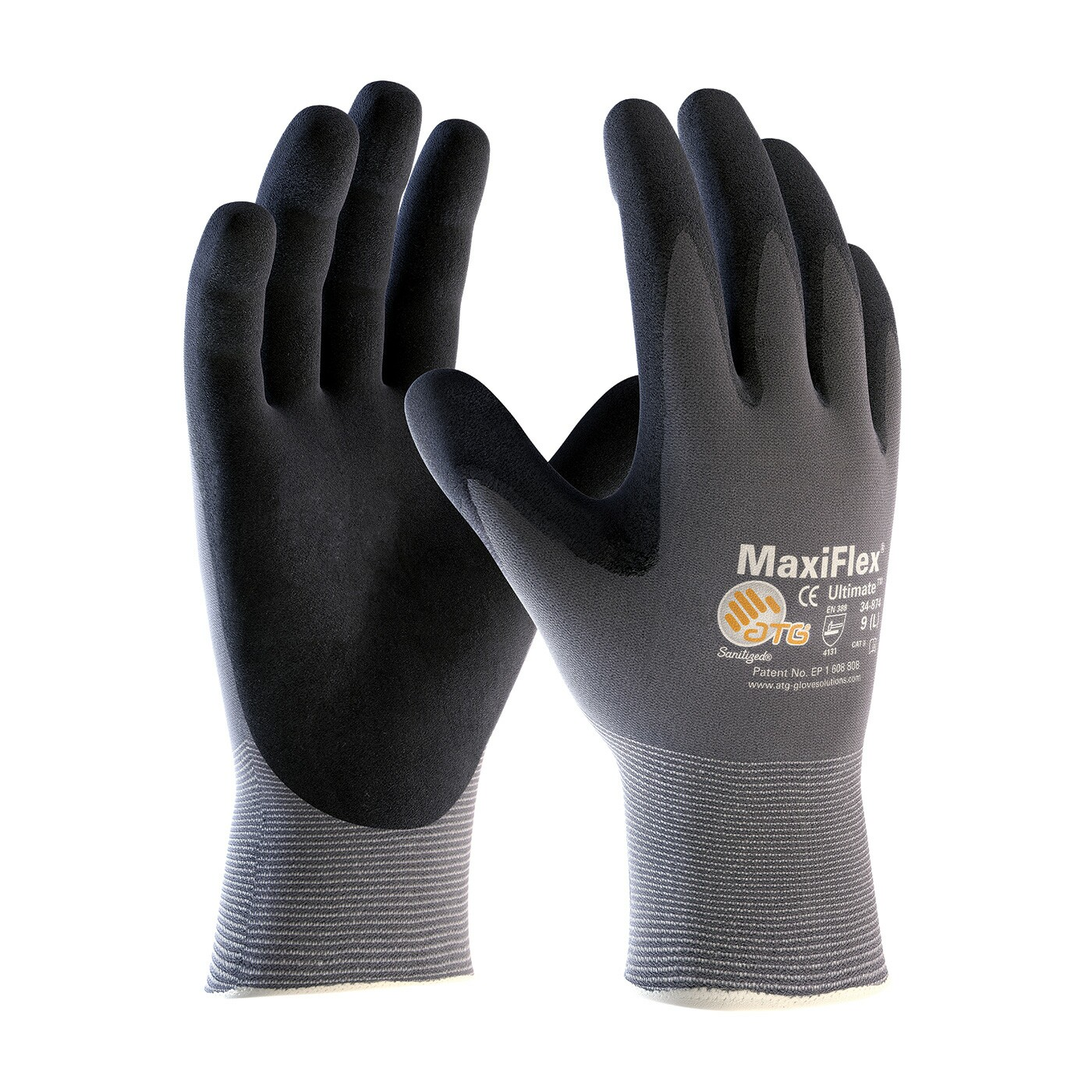 Atg Maxiflex Ultimate Coated Gloves Coated Gloves