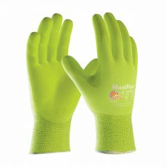 ATG Maxiflex Ultimate Hi-Vis Coated Gloves