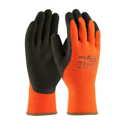 POWERGRAB Thermo Hi-Vis Microfinish Grip Gloves