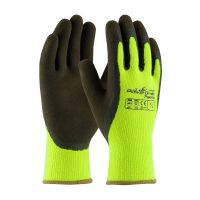 POWERGRAB Thermo Hi-Vis Microfinish Grip Lime Gloves