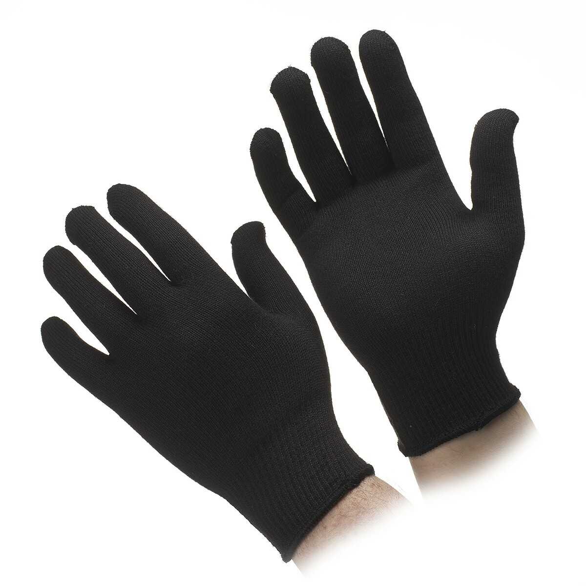 Black gloves online - Go Thermax Black Glove Liners