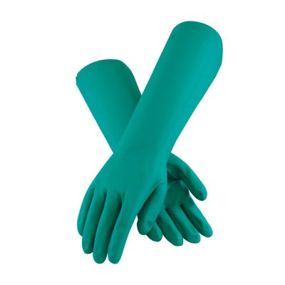 18 Inch Unlined Nitrile Utility Gloves