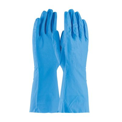 13 Inch Unlined Nitrile Grip Gloves