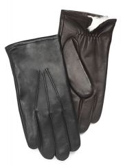 Cire Men's Rabbit Fur Lined Leather Gloves