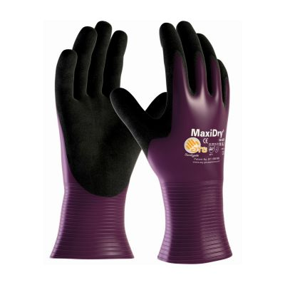 ATG MaxiDry Nitrile Coated Gloves