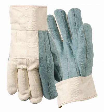 Heat Resistant Hot Mill Safety Cuff Gloves - 400F