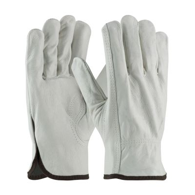 Grain Cowhide Leather Drivers Gloves