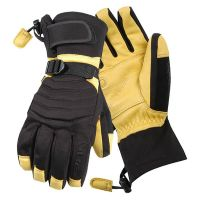 Winter Lined Leather Palm Ski - Driver Gloves