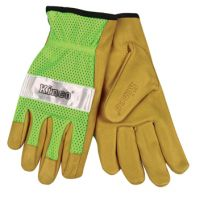 Kinco Hi-Vis Lime Green Mesh Gloves