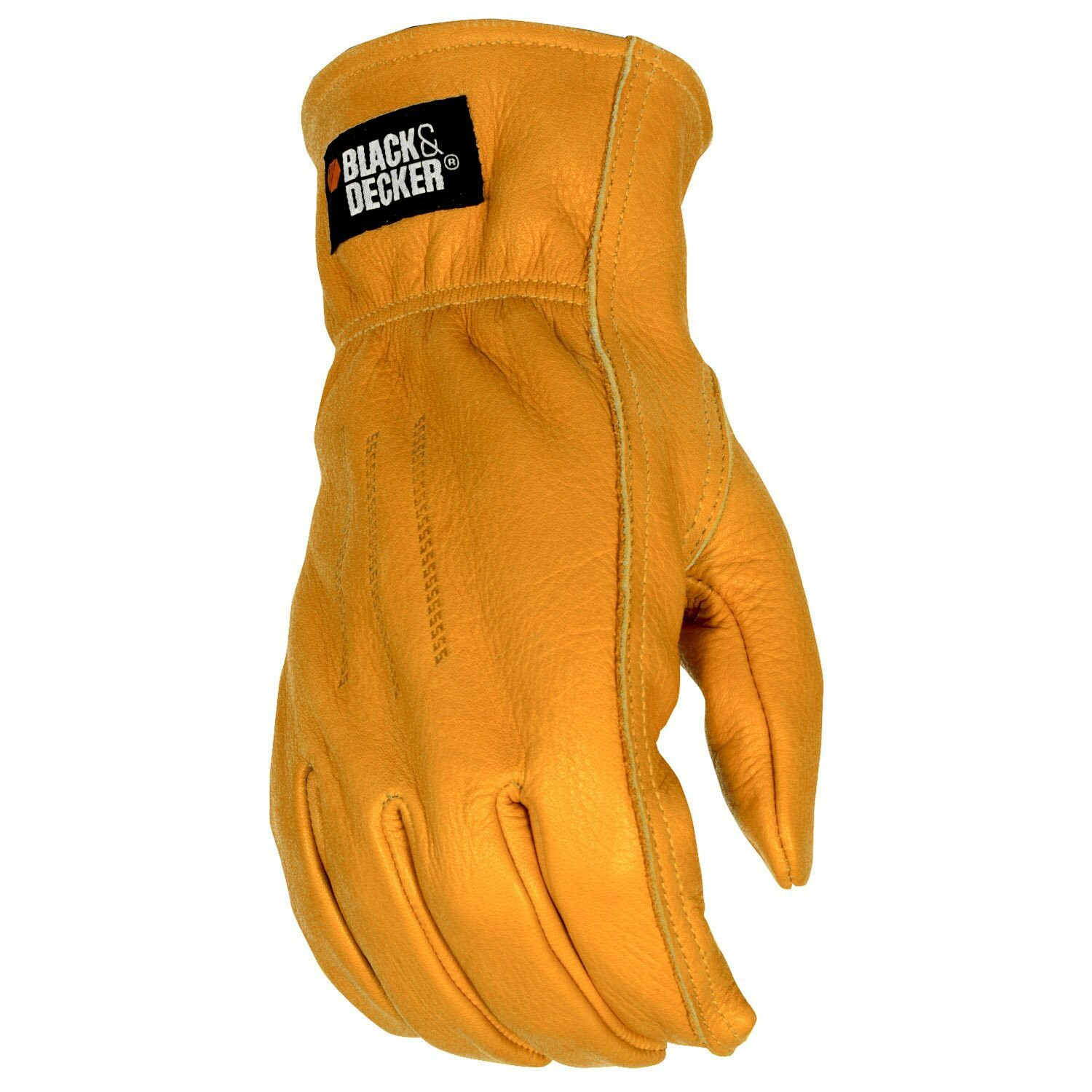 Goat leather work gloves - Black Decker Leather Drivers Work Glove Drivers Gloves Gloves Online