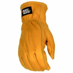 Black & Decker Leather Drivers Work Glove