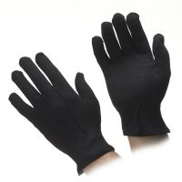 GO Black Cotton Parade Gloves
