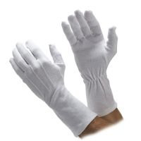 Extra Long Cotton Parade Gloves
