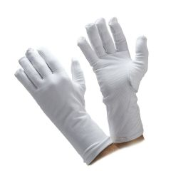 Winter Cotton & Fleece Honor Guard Gloves with Dotted Palm
