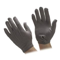 Cotton Gray Gloves
