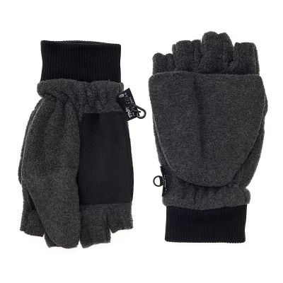 Men's Micro-Fleece Convertible Mittens