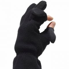 Freehands Fleece Finger Cap Gloves
