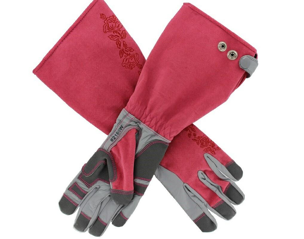 Womens Ultimate Grip Rose Tender Garden Gloves Garden