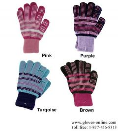 Girls Texting Stretch Gloves